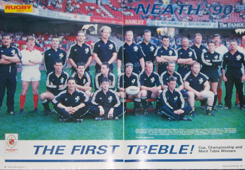 History Of Neath Rugby Since 1950 At The 125th Anniversary